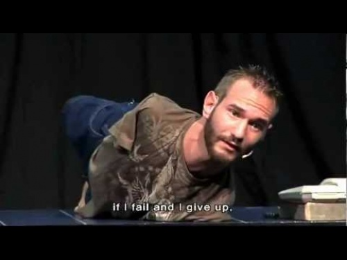 Nick Vujicic - Never give up!